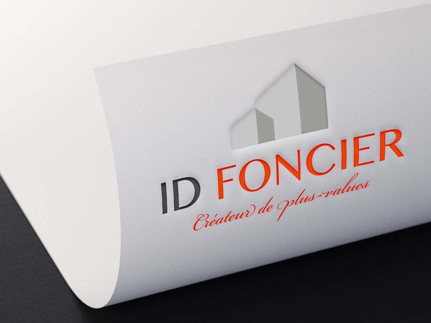 logo sur papier id foncier