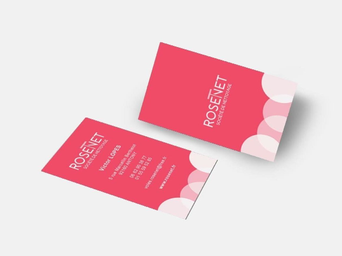 flyer rosenet logo communication