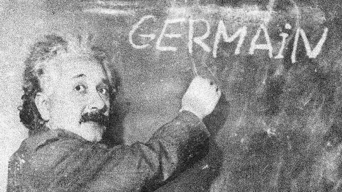 einstein théorie germain