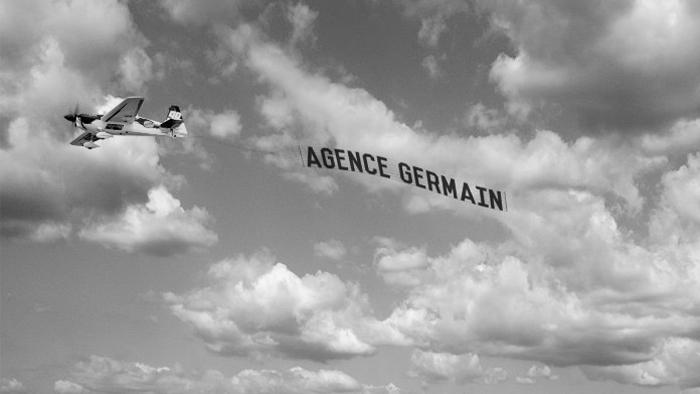 avion message germain