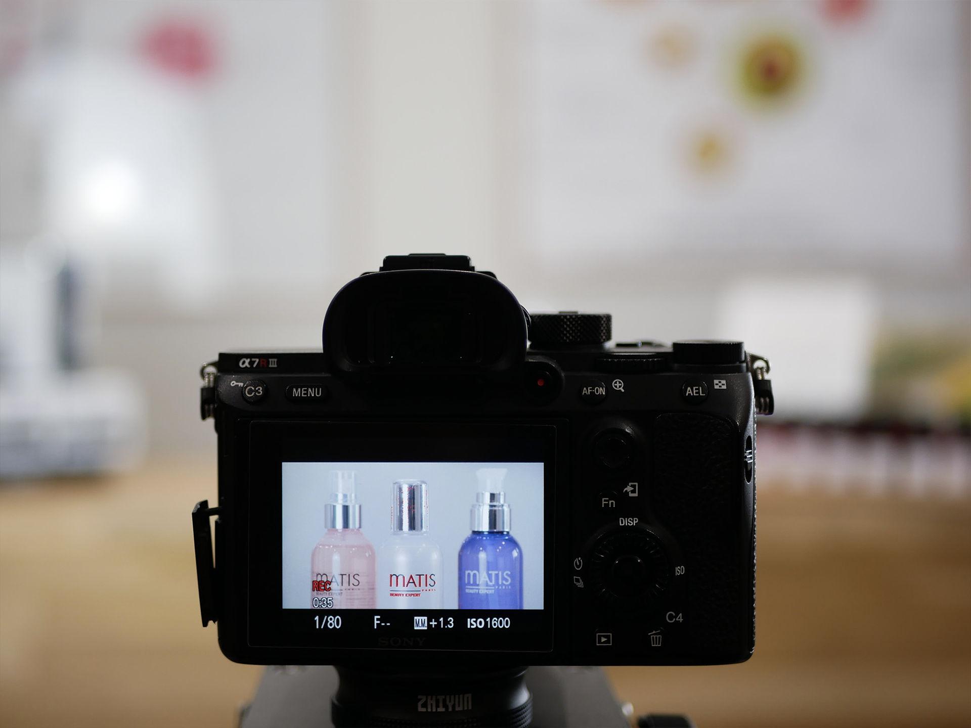 shooting photo produits institut